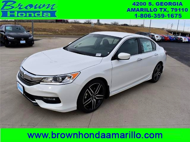 new 2017 honda accord sedan sport se cvt sedan in amarillo h2235 brown honda. Black Bedroom Furniture Sets. Home Design Ideas